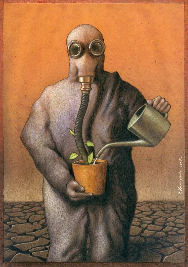 37 dibujos de crítica social de uno de los mejores artistas de pintura satírica