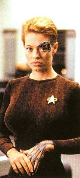 Seven of Nine sexy