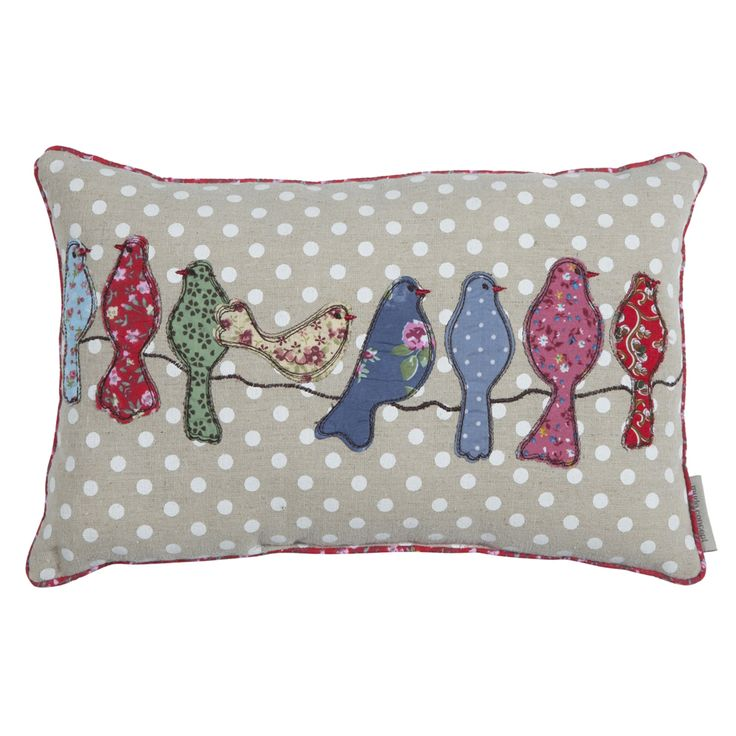 dekoratif yastık - decorative pillow - bird pillow