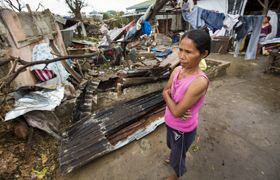 Samaritan's Purse is delivering emergency aid to people devastated by the terrible storm