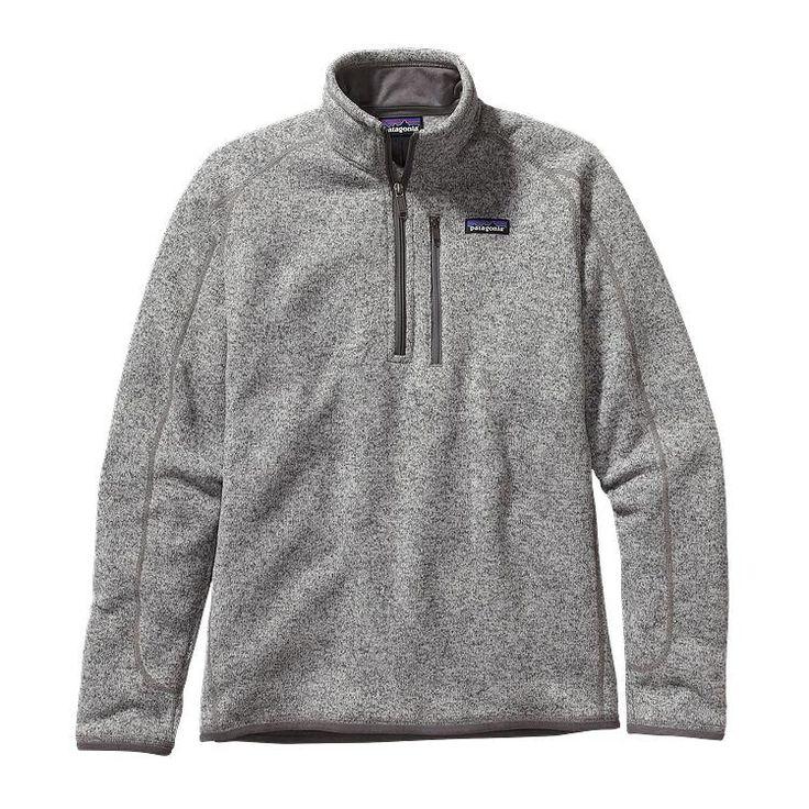 Patagonia Men's Better Sweater Fleece Quarter-Zip 25522 Stonewash