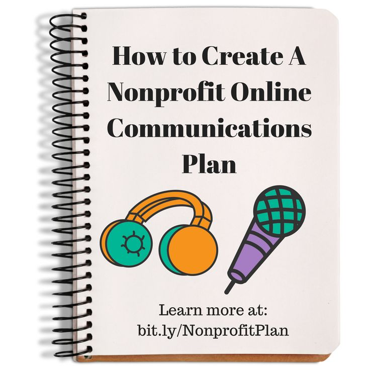 How to create a nonprofit online communications plan