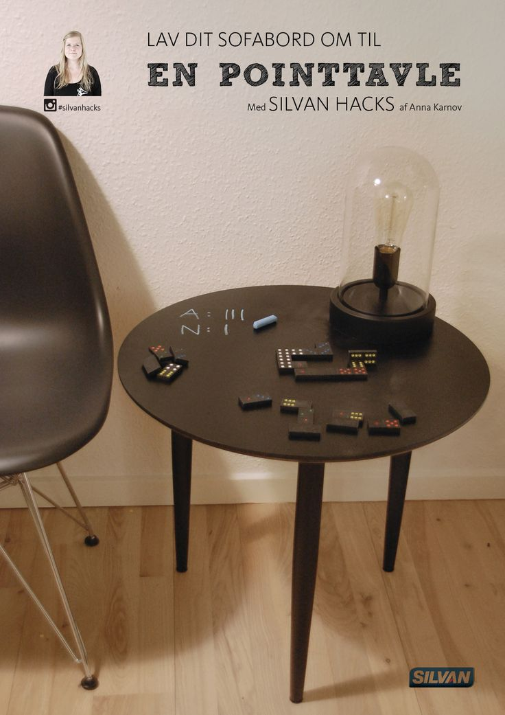 Lav sit sofabord om til pointtavle - med SILVAN hacks af Anna Karnov