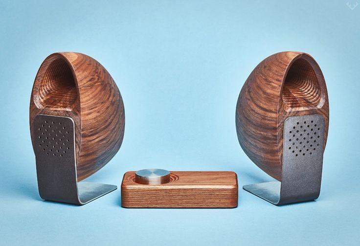 Grovemade Walnut Speaker System