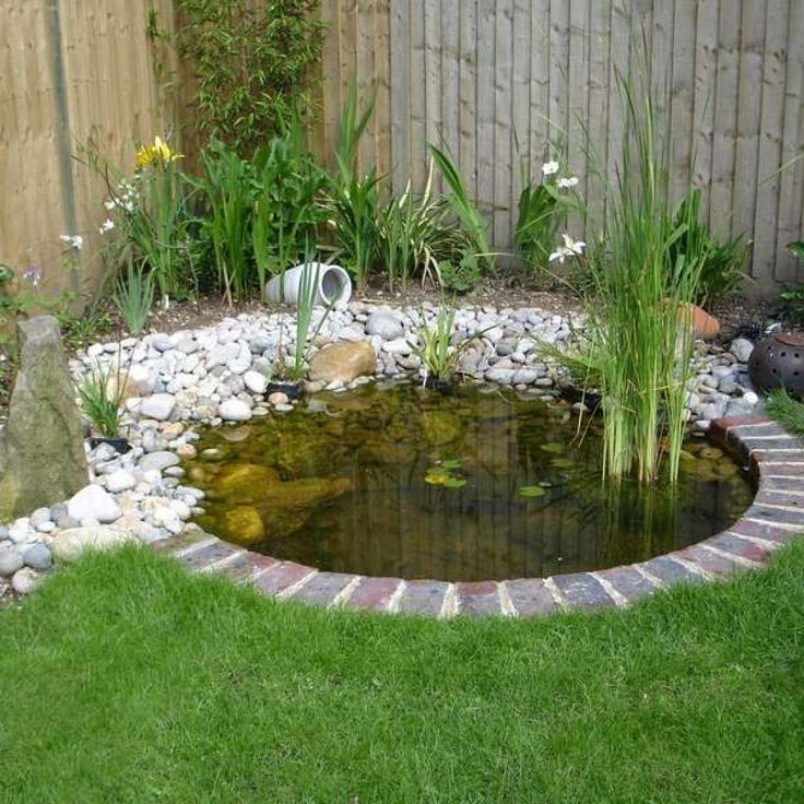 15 Beautiful Fish Pond Design Ideas To Decorate Your Home Design Decorating In 2020 Garden Pond Design Ponds For Small Gardens Ponds Backyard