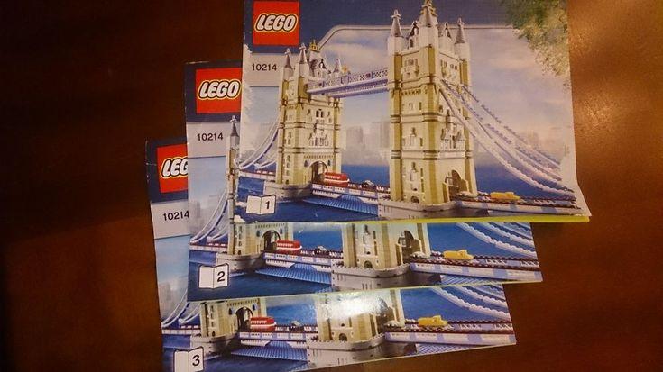 LEGO Tower Bridge (10214) 100% complete w/vehicles no box