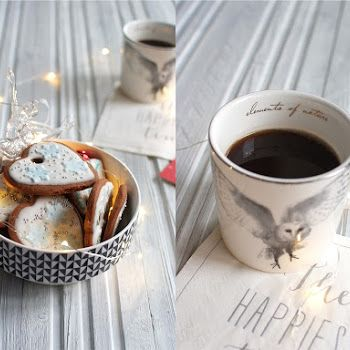 Inka Latte w smykowitym wydaniu ;-) coffee, coffee latte, winter coffee,