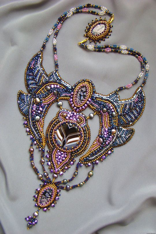 Embroidered jewellery this looks very complicated but i