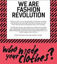 Get curious about who makes your clothes.  Fast fashion can lead to junk fashion, lost lives, ecological waste.  April 24th, 2014 is Fashion Revolution Day. Wear your labels #insideout and #buyvintage high quality garments #PlaidPanache @PlaidPanache #etsy #recycle #upcycle #gogreen