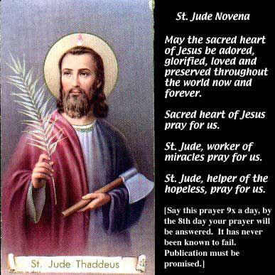 St. Jude Prayer