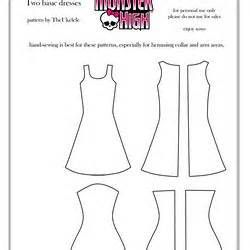 28 best Monster high doll clothes patterns to sew images