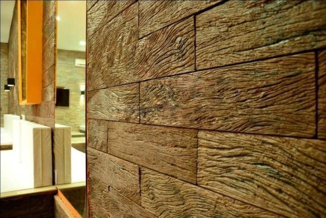 Las 25 mejores ideas sobre revestimiento pared exterior en - Revestimiento de madera ...