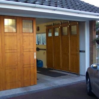 Alternative or Unusual Garage Door Opening Ideas - The Garage Journal Board Are these called sliding?