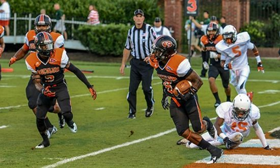The Tusculum College Pioneers Are Our Local College Football Team