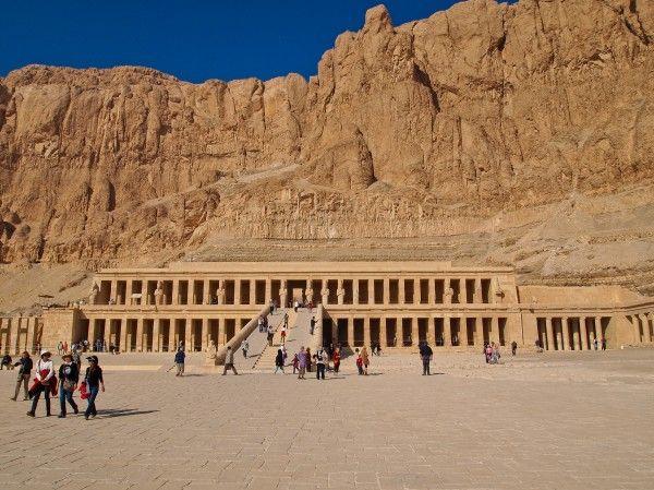 The temple of Hetshepsut, #Egypt