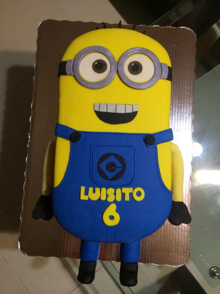 Pastel de minion #minion #cake #moka