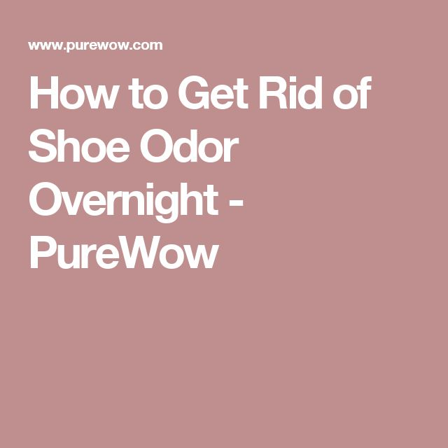 Best Thing For Shoe Odor