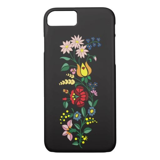 Flower Embroidery iPhone 7 Case