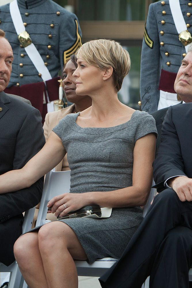 Dress like Claire!! A look at the wardrobe of Claire Underwood from House of Cards | Never Underdressed #OneNationUnderwood