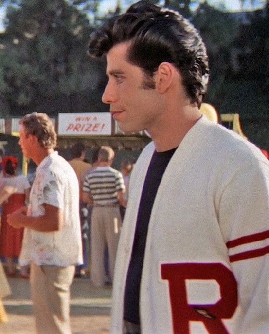 John Travolta, in that jersey!