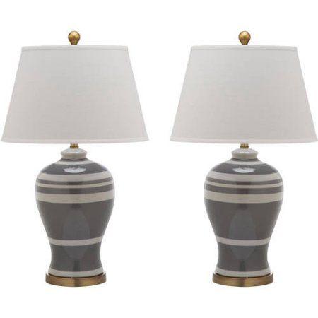 Safavieh Spring Blossom Table Lamp, Set of 2, White