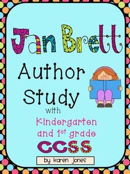 Jan Brett author study with lots of activities! Perfect for January :) $