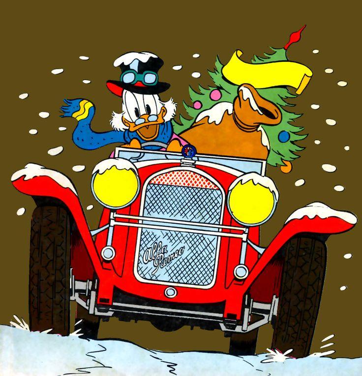 Uncle Scrooge - vintage comics art