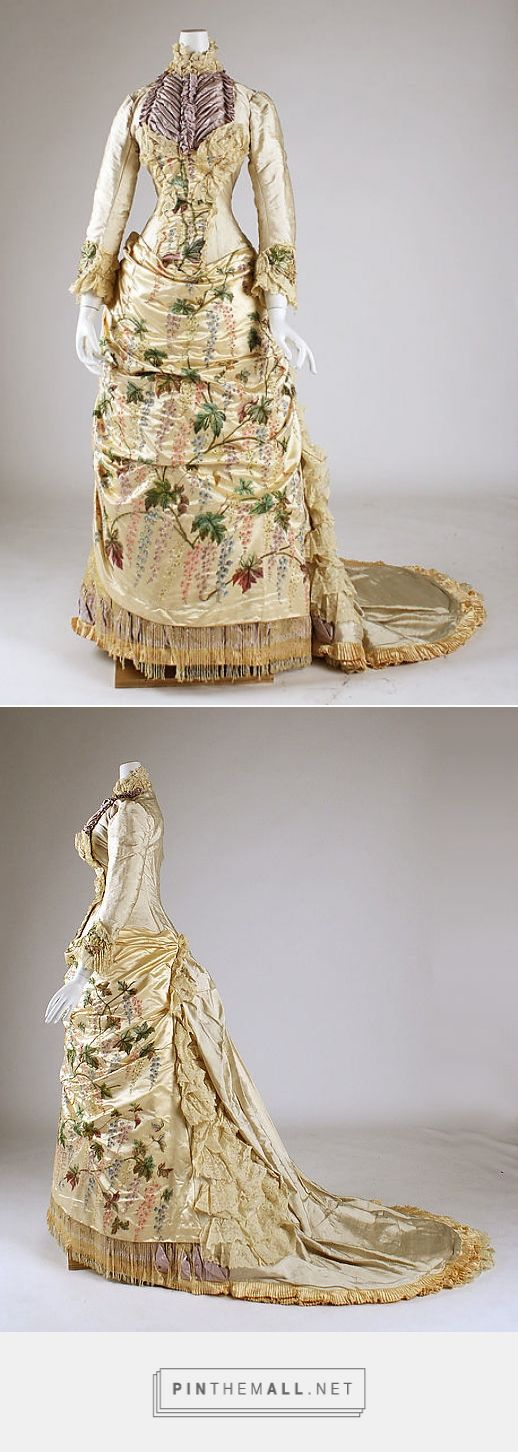 Dress by Mme. Martin Decalf 1882-83 French | The Metropolitan Museum of Art