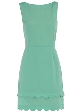 love this colourMint Green, Bridesmaid Dresses, Scallops Hemmings, Dorothy Perkins, Mint Dresses, Spring Outfit, Robin Eggs Blue, Green Dresses, Black Blazers