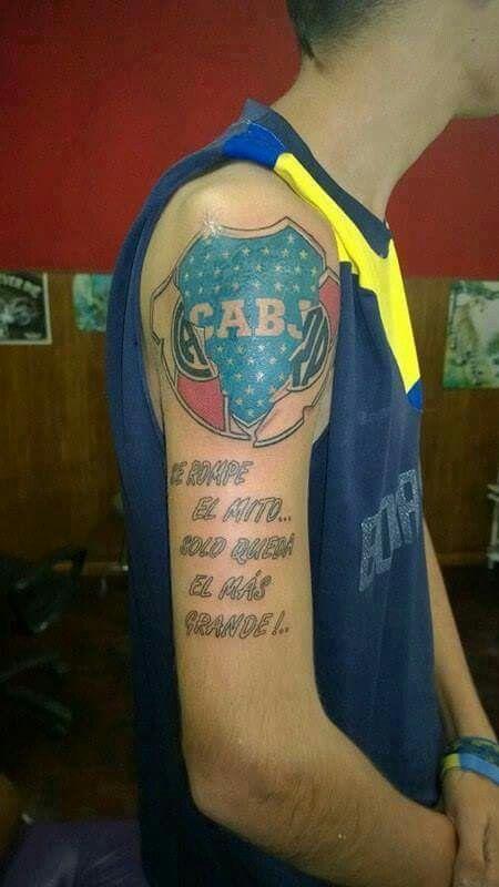 Tatuajes De Boca Juniors Realmente Espectaculares Fondo De