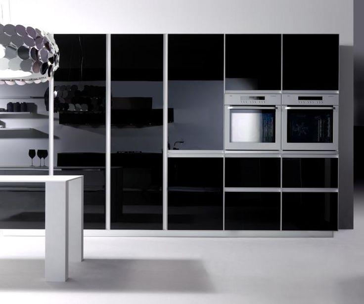 83 besten Firmenküche Bilder auf Pinterest Küchen, Moderne - matt schwarze kchen