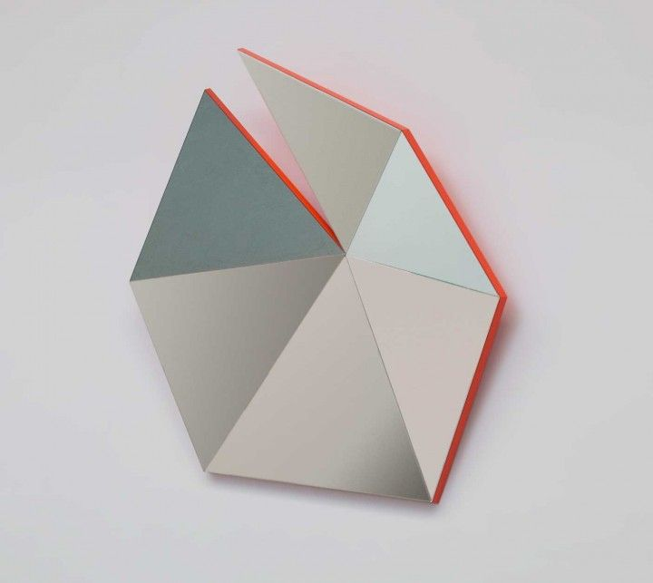 Geometric mirrors by Stonefox | Accessories- Modern | Pinterest ...