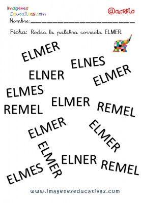 Elmer Elefante atención y grafo (13)