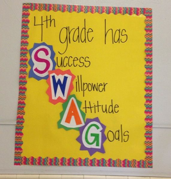 """I could definitely tweak this for middle school since everything seems to be """"swag"""" now...lol"""