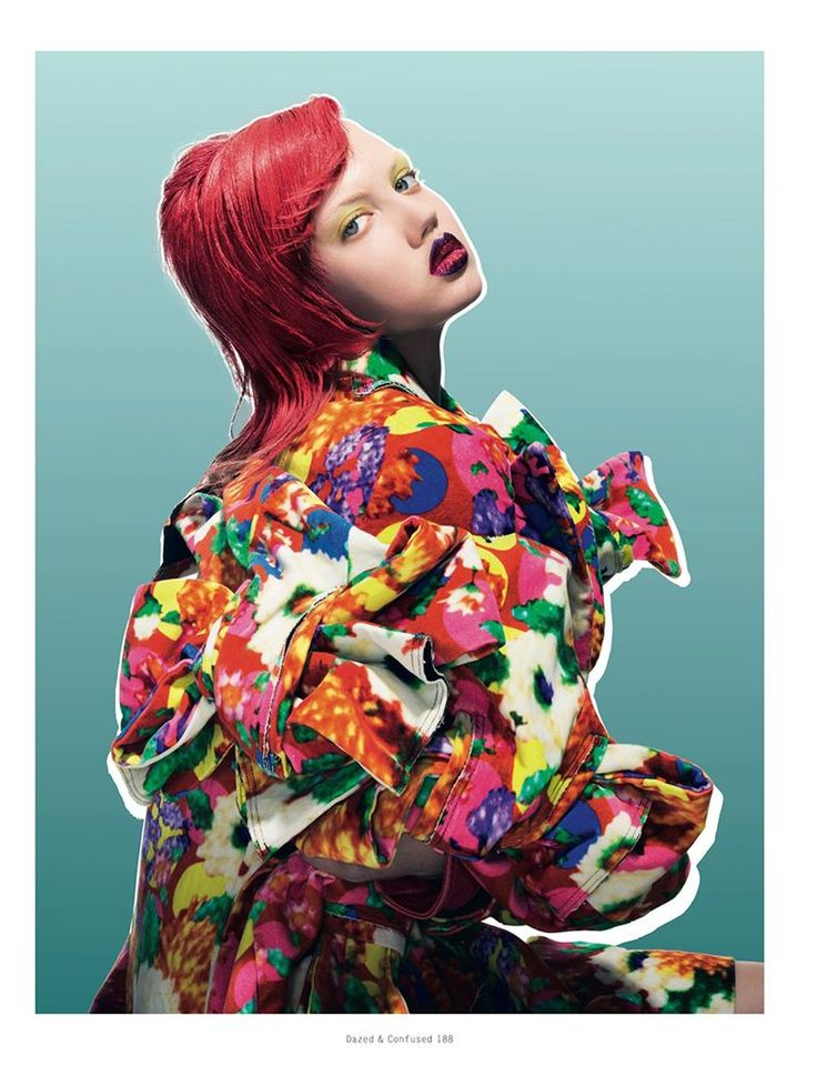 'You Make Me Feel Hyper Real' Lindsey Wixson by Pierre Debusschere for Dazed & Confused October 2013