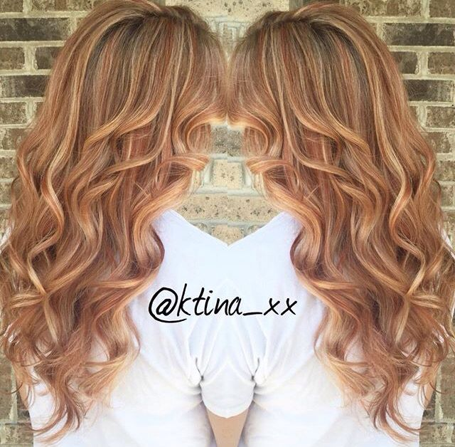 Dirty Blonde Hair With Strawberry Blonde Highlights