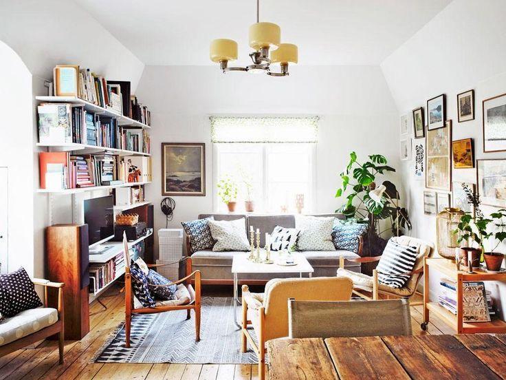 50 Examples Of Beautiful Scandinavian Interior Design Home Living Room Living Room Tv Interior #two #tv #living #room