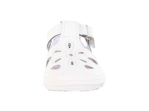 Keds Kids Lil' Adelle T-Strap (Infant) White - Zappos.com Free Shipping BOTH Ways