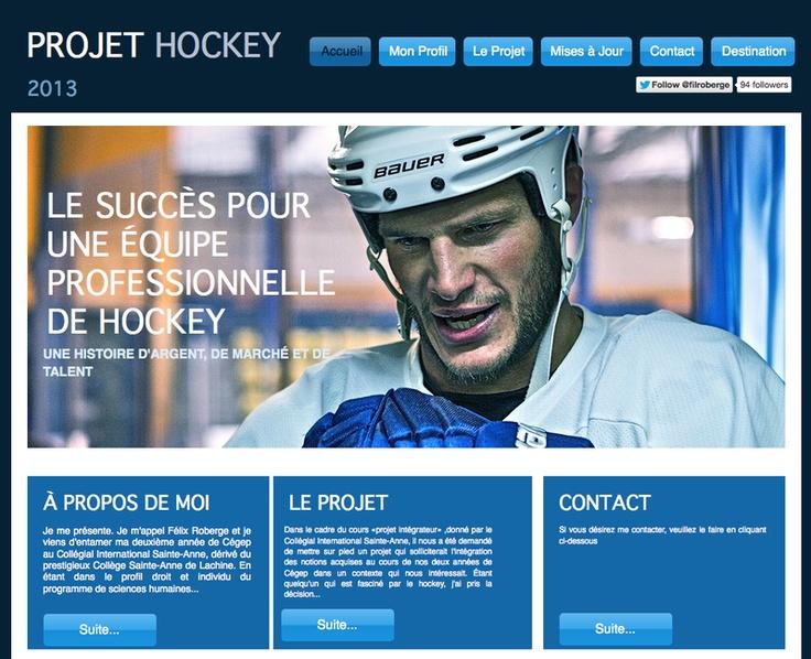 Felix Roberge - Professional hockey team success analysis - case study based on the Habs - Montréal - Québec