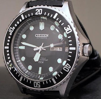 Citizen Automatic Diver's Watch 51-2273, I've been wearing this watch since 1989 and still do now