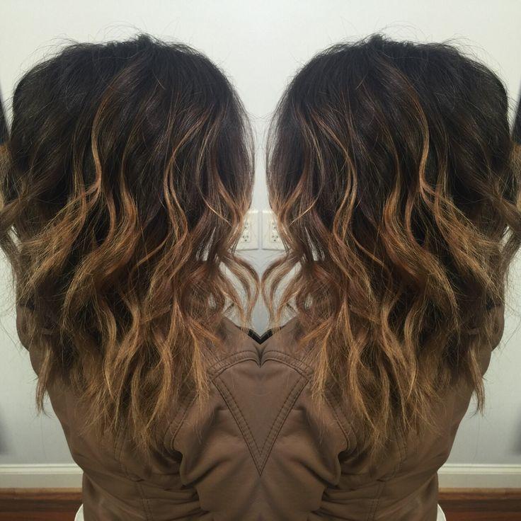 Ombré on Hispanic hair