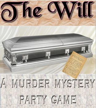 Game: The Will Murder Mystery party/script & lesson plans.  $2.99