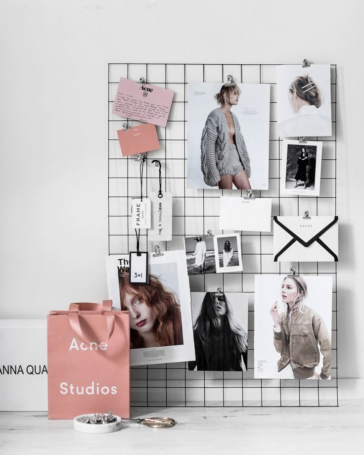 DIY mesh mood board in 30 minutes of less - Beige Renegade
