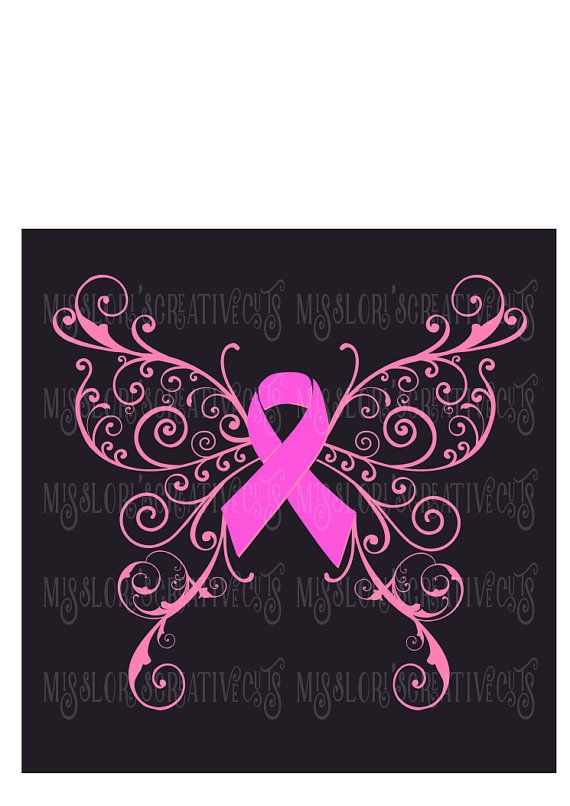 58 Best Cricut Causes Images On Pinterest Breast Cancer Awareness Cricut And Punch Art