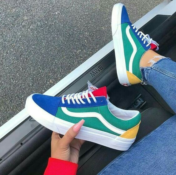 Tendance Sneakers 2018 : 34 baskets pour femmes à l'air cool et à la mode #Women Sneakers #baskets #femmes #sneakers #women