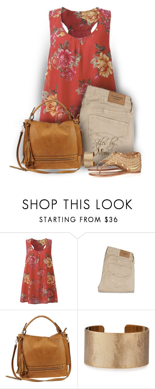 """Urban Expressions (6.24.17)"" by stylesbymimi ❤ liked on Polyvore featuring Abercrombie & Fitch, Urban Expressions, Panacea, Tory Burch and plus size clothing"