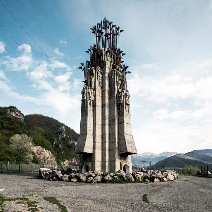 Impressive Soviet Architecture in Georgia – Fubiz Media
