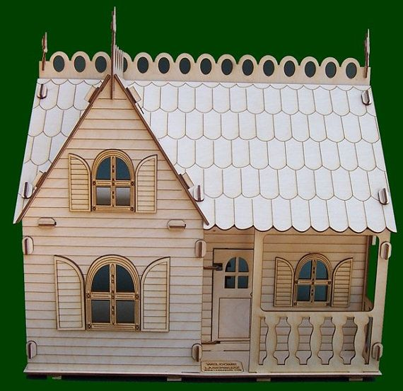 Diy Miniature Doll House Flat Packed Cardboard Kit Mini: 16 Best Images About School