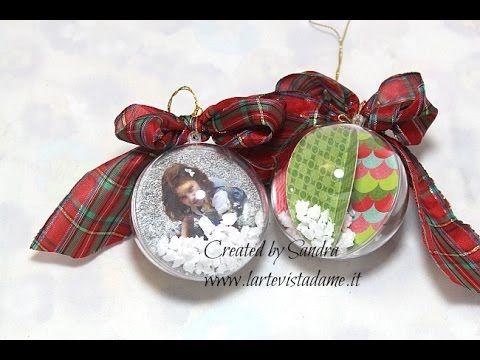 Pallina di Natale con foto personalizzata – Christmas Ball | l'arte vista da me