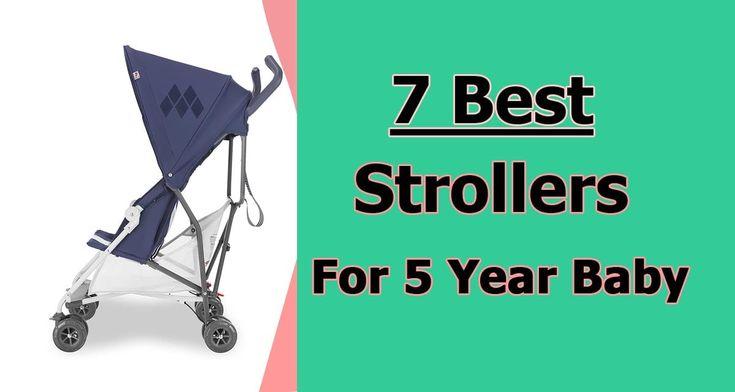 Best Stroller For 5 Year Old in 2020 | Stroller, 5 year ...